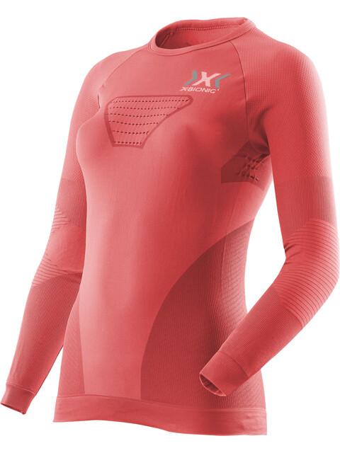 X-Bionic W's Speed Evo Running Shirt LS Pink Paradise/Pearl Grey
